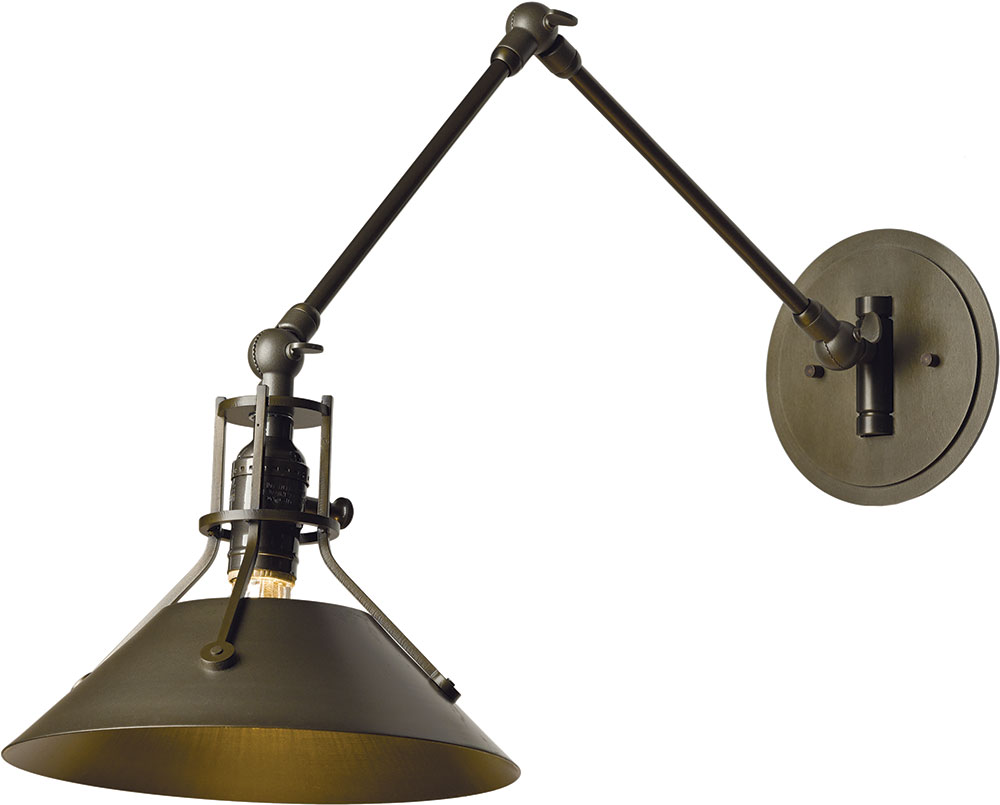 Hubbardton Forge 209320 Henry Wall Swing Arm Lamp - HUB-209320
