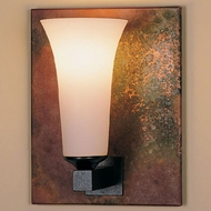 Hubbardton Forge 21-7394 Reflections Glass Bell Wall Sconce