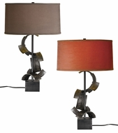 Hubbardton Forge 277815 Manifold Designer Clear Coat Fluorescent Table Top Lamp