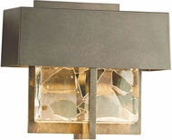 Hubbardton Forge 302515D Shard LED Outdoor Wall Sconce Light