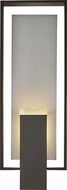 Hubbardton Forge 302605 Shadow Box Outdoor Large Wall Mounted Lamp