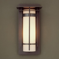Hubbardton Forge 305992 Banded LED Outdoor Wall Sconce Lighting