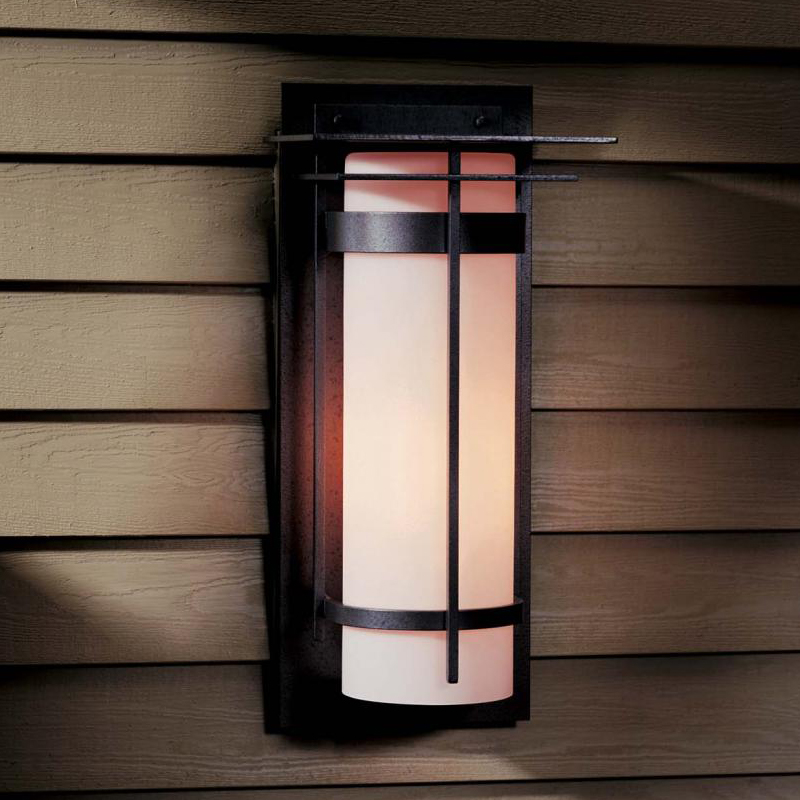 Hubbardton Forge 305994 Banded Led Outdoor Wall Light Sconce Hub 305994