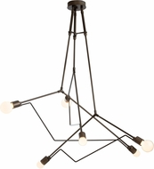 Hubbardton Forge 362015 Divergence Exterior Lighting Chandelier