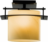 Hubbardton Forge 367525 Arc Ellipse LED Exterior Flush Lighting