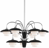 Hudson Valley 1009-PN Barron Polished Nickel Chandelier Lighting