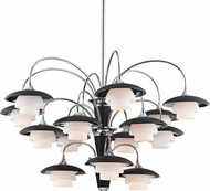 Hudson Valley 1015-PN Barron Polished Nickel Chandelier Lamp