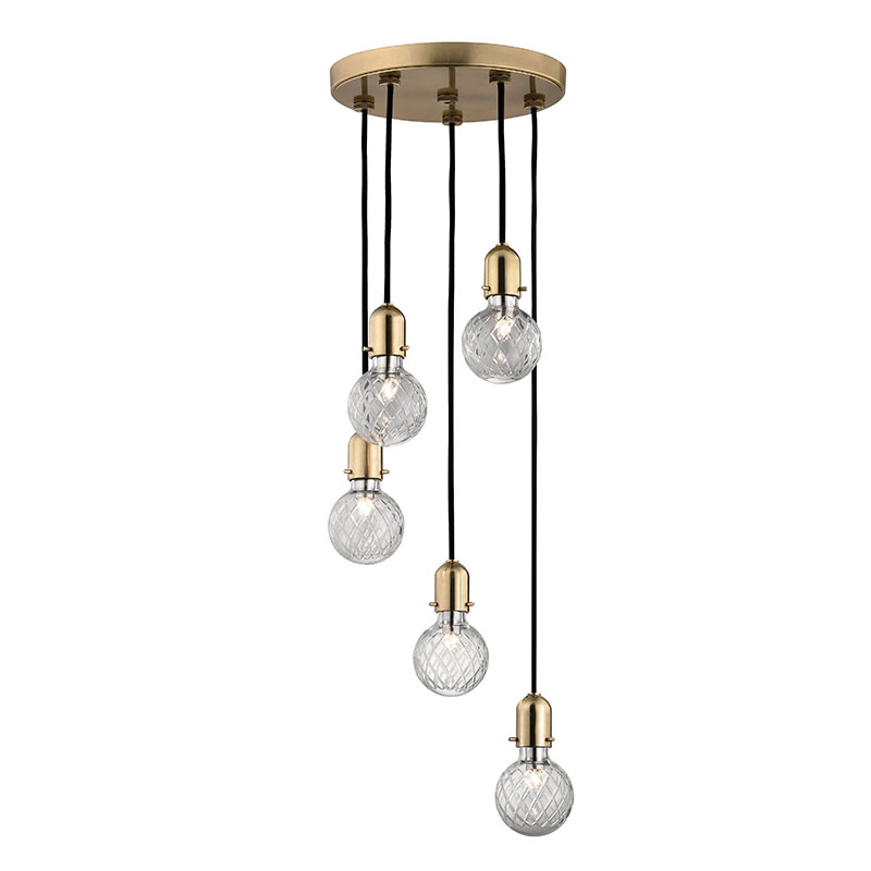 Hudson valley 1105 agb marlow modern aged brass xenon multi pendant hudson valley 1105 agb marlow modern aged brass xenon multi pendant hanging light loading zoom aloadofball Gallery