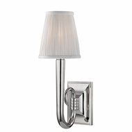 Hudson Valley 1111-PN Douglas Polished Nickel Wall Light Fixture