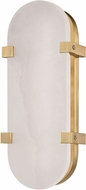 Hudson Valley 1114-AGB Skylar Contemporary Aged Brass LED Wall Sconce