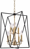 Hudson Valley 1118-AGB Laszlo Aged Brass 18.25  Foyer Lighting Fixture