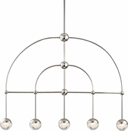 Hudson Valley 1225-PN Boca Contemporary Polished Nickel LED Kitchen Island Lighting