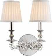 Hudson Valley 1292-PN Lapeer Polished Nickel Wall Light Sconce