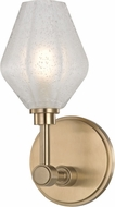 Hudson Valley 1321-AGB Orin Contemporary Aged Brass LED Wall Sconce Light