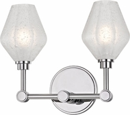 Hudson Valley 1322-PC Orin Contemporary Polished Chrome LED 2-Light Bath Light Fixture