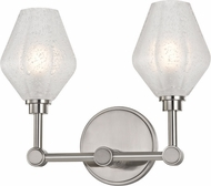 Hudson Valley 1322-SN Orin Modern Satin Nickel LED 2-Light Bath Lighting Fixture