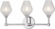 Hudson Valley 1323-PC Orin Modern Polished Chrome LED 3-Light Bathroom Vanity Lighting