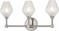 Hudson Valley 1323-SN Orin Contemporary Satin Nickel LED 3-Light Bathroom Vanity Light