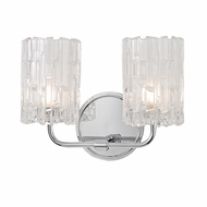 Hudson Valley 1332-PC Dexter Polished Chrome Xenon 2-Light Bathroom Sconce