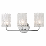 Hudson Valley 1333-PC Dexter Polished Chrome Xenon 3-Light Vanity Light Fixture