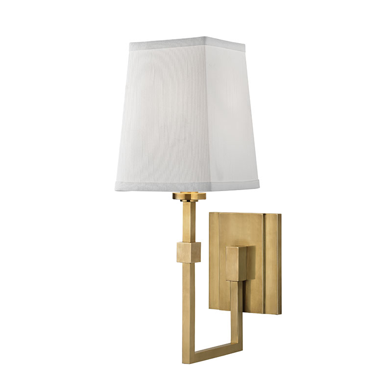 Hudson valley 1361 agb fletcher modern aged brass wall light sconce hudson valley 1361 agb fletcher modern aged brass wall light sconce loading zoom mozeypictures Choice Image