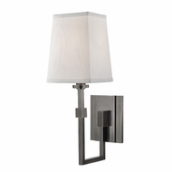 Hudson Valley 1361-HN Fletcher Contemporary Historic Nickel Wall Sconce Light