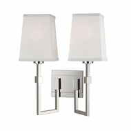 Hudson Valley 1362-PN Fletcher Contemporary Polished Nickel Lighting Sconce