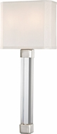 Hudson Valley 1461-PN Larissa Contemporary Polished Nickel Lamp Sconce