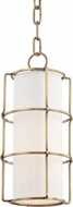 Hudson Valley 1510-AGB Sovereign Modern Aged Brass LED Mini Drop Lighting