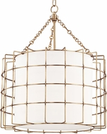 Hudson Valley 1524-AGB Sovereign Modern Aged Brass LED 24  Pendant Lighting