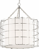 Hudson Valley 1524-PN Sovereign Modern Polished Nickel LED 24  Lighting Pendant