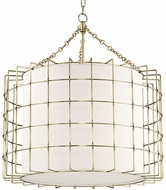 Hudson Valley 1531-AGB Sovereign Modern Aged Brass LED 31  Pendant Lamp