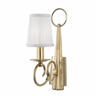 Hudson Valley 1691-AGB Caldwell Aged Brass Lamp Sconce
