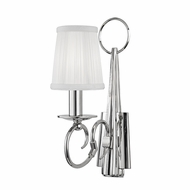 Hudson Valley 1691-PN Caldwell Polished Nickel Wall Light Fixture