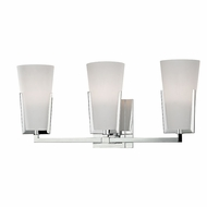 Hudson Valley 1803-PC Upton Polished Chrome Xenon 3-Light Bath Lighting Sconce