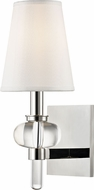 Hudson Valley 1900-PN Luna Polished Nickel Lighting Wall Sconce