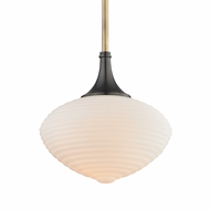 Hudson Valley 1912-AOB Knox Contemporary Aged Old Bronze Pendant Lighting