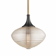 Hudson Valley 1922-AOB Knox Contemporary Aged Old Bronze Pendant Light Fixture
