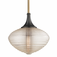 Hudson Valley 1926-AOB Knox Modern Aged Old Bronze Hanging Pendant Light
