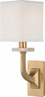 Hudson Valley 1981-AGB Rockwell Aged Brass Wall Lighting Sconce