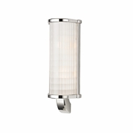 Hudson Valley 1982-PN Arcadia Polished Nickel Finish 5.5  Wide Xenon Bathroom Lighting