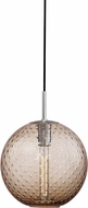 Hudson Valley 2010-PC-BZ Rousseau Modern Polished Chrome 11.25  Hanging Lamp