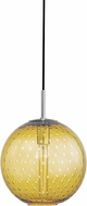 Hudson Valley 2010-PC-LA Rousseau Modern Polished Chrome 11.25  Pendant Light Fixture
