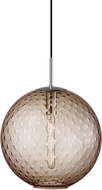 Hudson Valley 2015-PC-BZ Rousseau Modern Polished Chrome 16  Ceiling Light Pendant