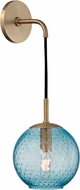 Hudson Valley 2020-AGB-BL Rousseau Modern Aged Brass 14 Sconce Lighting