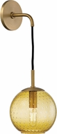 Hudson Valley 2020-AGB-LA Rousseau Contemporary Aged Brass 14 Lamp Sconce