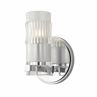 Hudson Valley 2021-PC Malone Modern Polished Chrome Xenon Wall Light Sconce