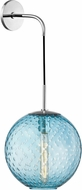 Hudson Valley 2030-PC-BL Rousseau Contemporary Polished Chrome 20 Wall Lamp