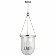 Hudson Valley 214-PN Willet Polished Nickel Finish 38.75  Tall Hanging Light