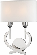 Hudson Valley 2150-PN Downing Polished Nickel Lighting Wall Sconce